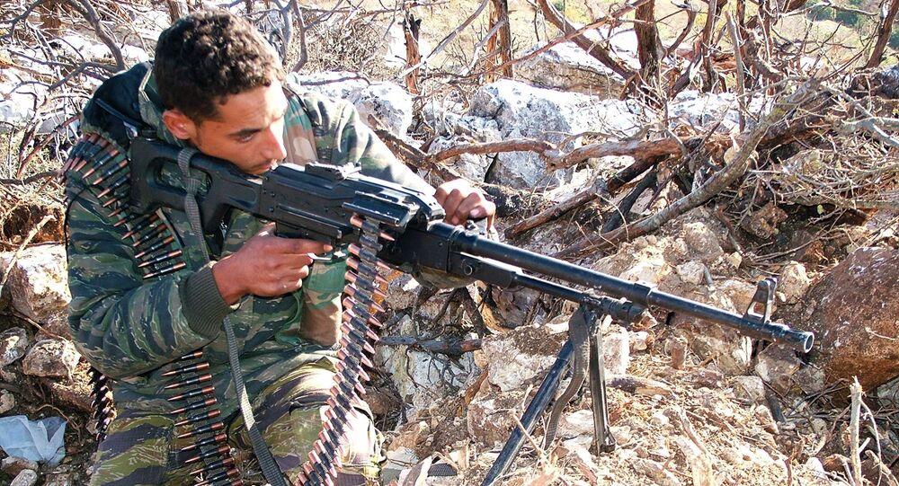 مقاتل في حلب