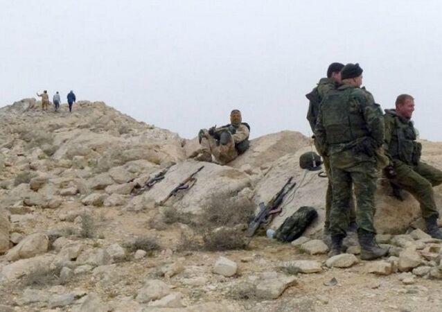 قوات من الجيش الروسي في سوريا