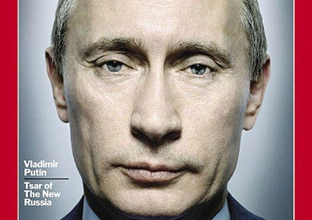 رجل العام لعام2007 - الرئيس الروسي فلاديمير بوتين