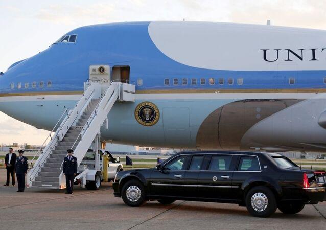 طائرة الرئاسة الأمريكية