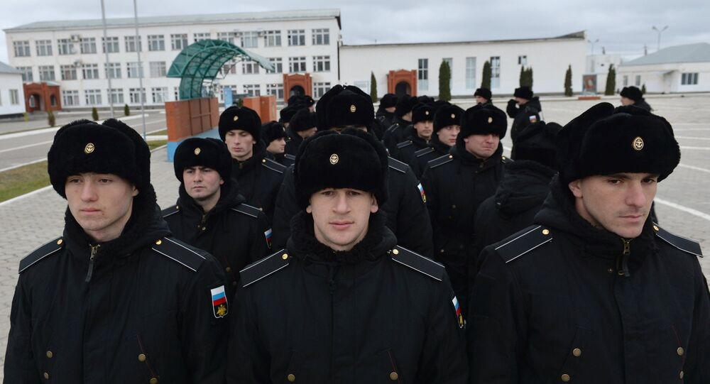 مجندون من الشيشان
