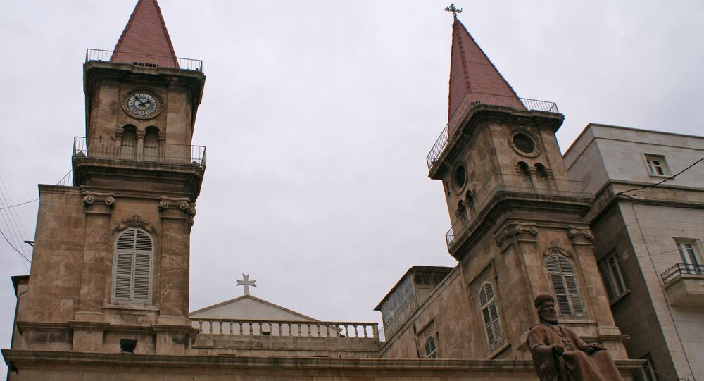 الكنيسة المسيحية في البلدة القديمة في حلب، 2009
