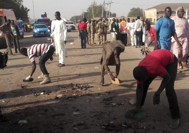 انفجار في نيجيريا