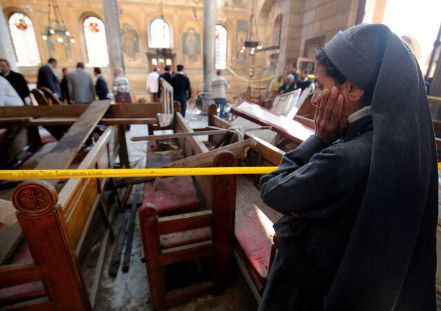 انفجار الكنيسة في مصر