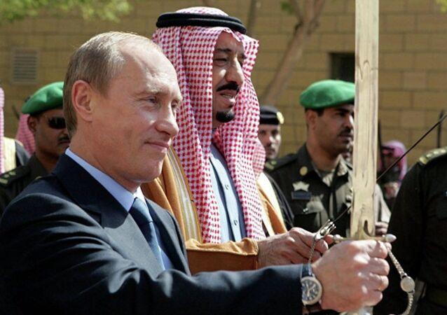بوتين و الملك سلمان