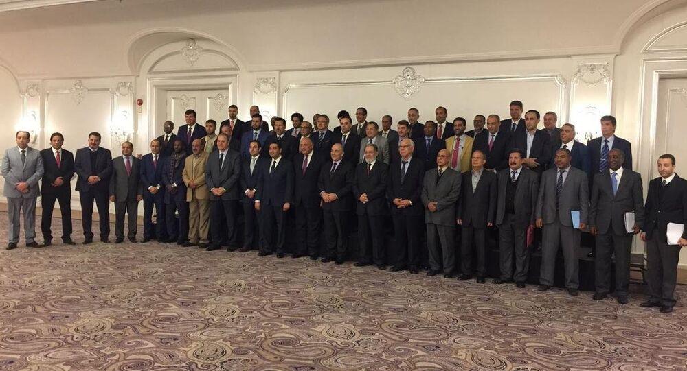 الاجتماع بحث سبل تحقيق الاستقرار في ليبيا