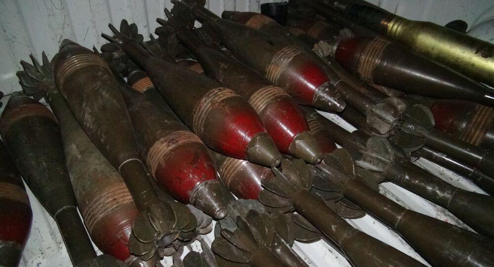 الأسلحة التي تركتها جبهة النصرة بعد هروبها من حلب