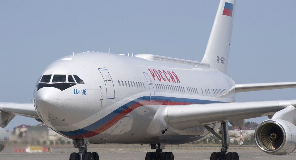 طائرة الرئيس الروسي