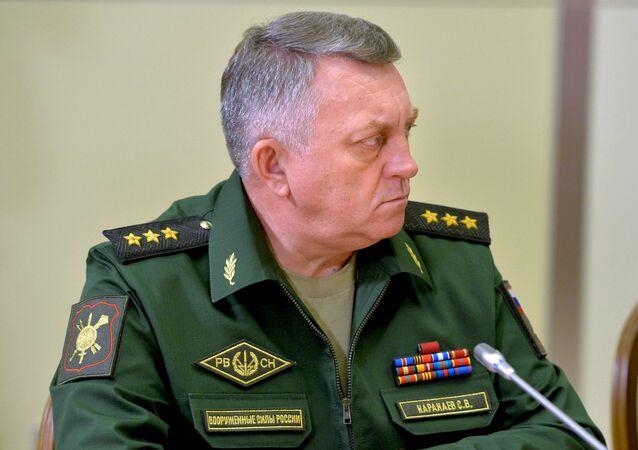 قائد القوات الصاروخية الاستراتيجية الروسية، الفريق أول سيرغي كاركايف