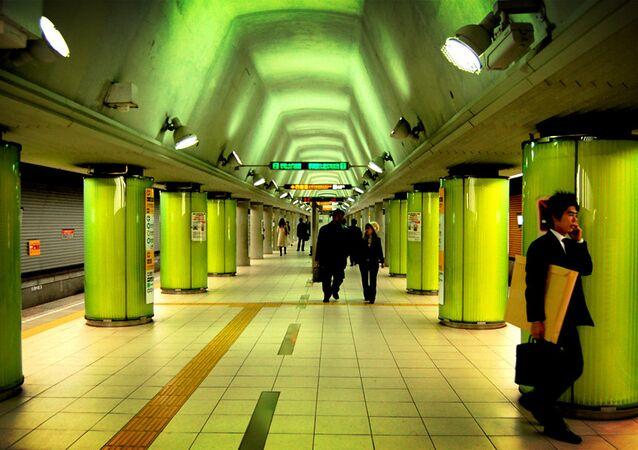 مترو الأنفاق في اليابان