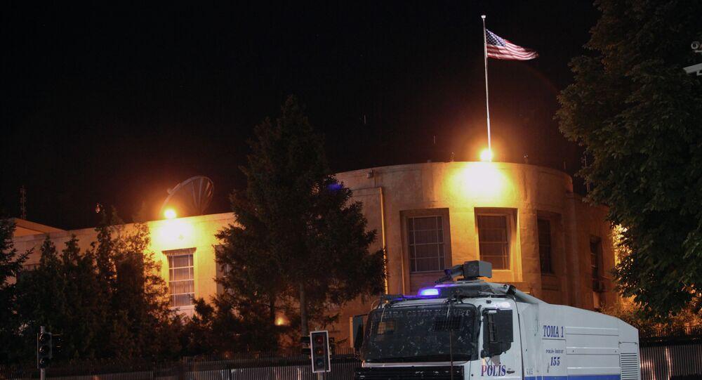 السفارة الأمريكية في انقرة