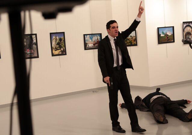 اغتيال سفير روسيا في أنقرة