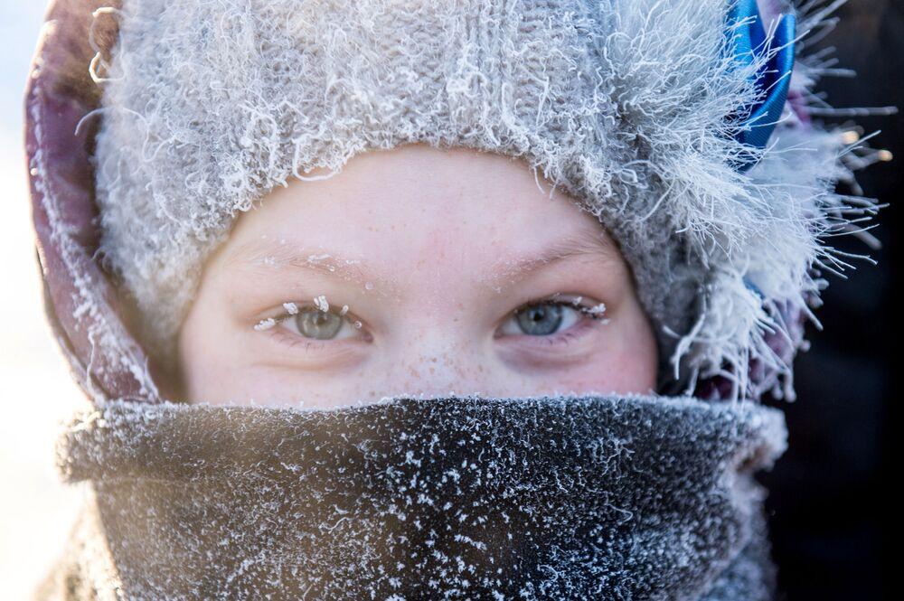 مواطنة روسية بمدينة تارا بمقاطعة أومسك