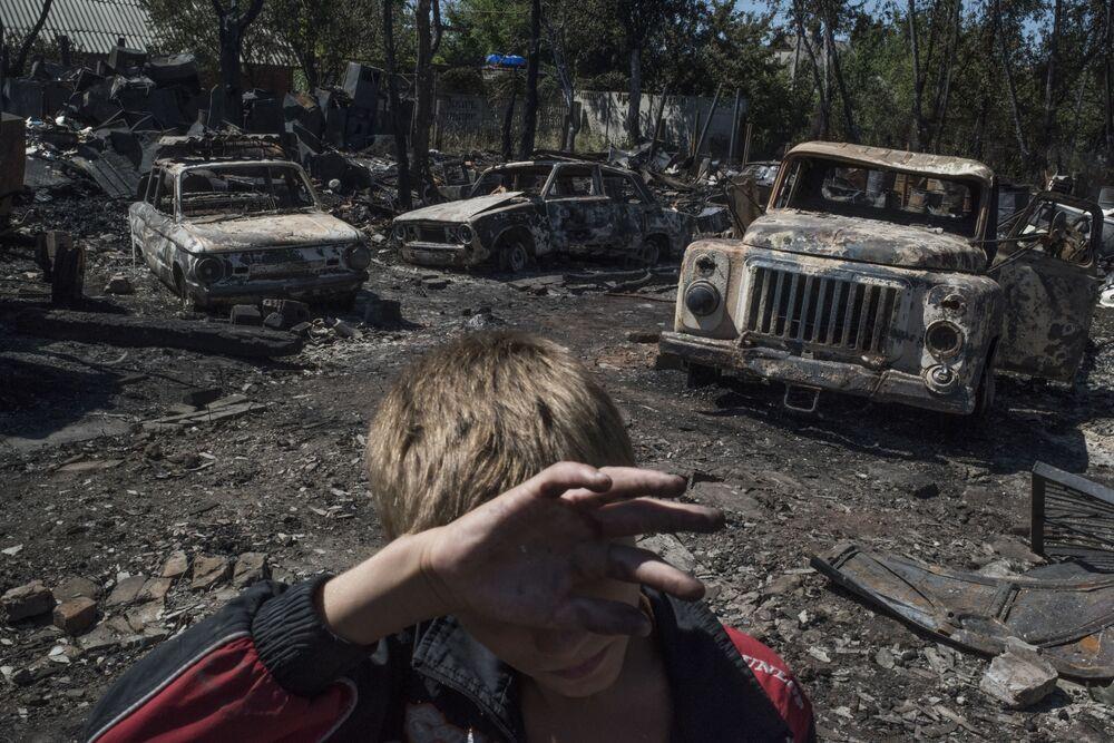الاشتباكات في دونيتسك، أوكرانيا
