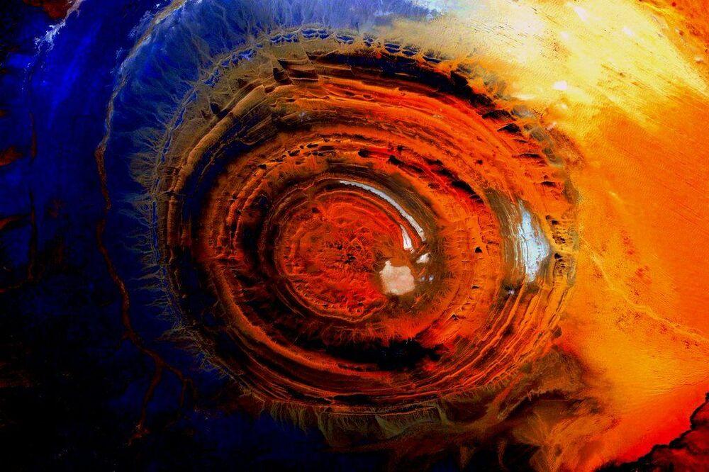 صورة لكوكب الأرض التقطها رائد الفضاء الأمريكي سكوت كيلي