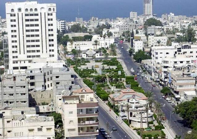 المجلس التشريعي ومدينة غزة