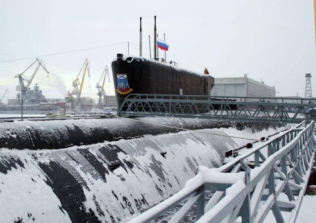 غواصة نووية روسية من فئة بوريي