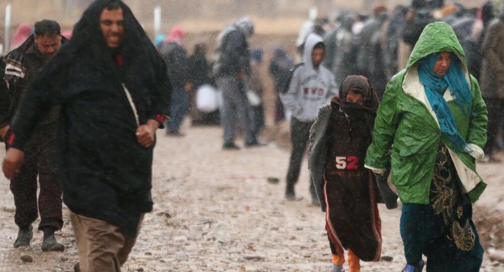 النازحين في العراق