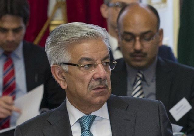 وزير الدفاع الباكستاني خواجة محمد آصف