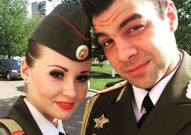 رالينا جليمانوفا وميخائيل