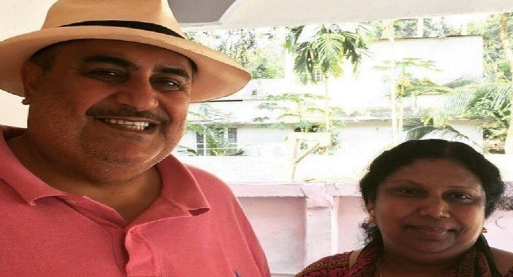 خادمة هندية تستضيف وزير الخارجية البحريني