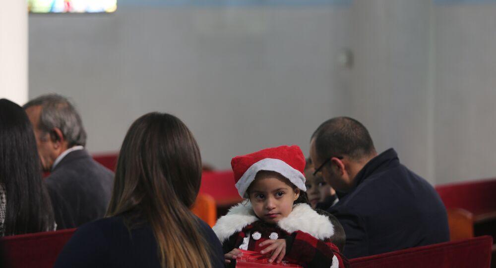عيد الميلاد المجيد من بيت لحم إلى غزة