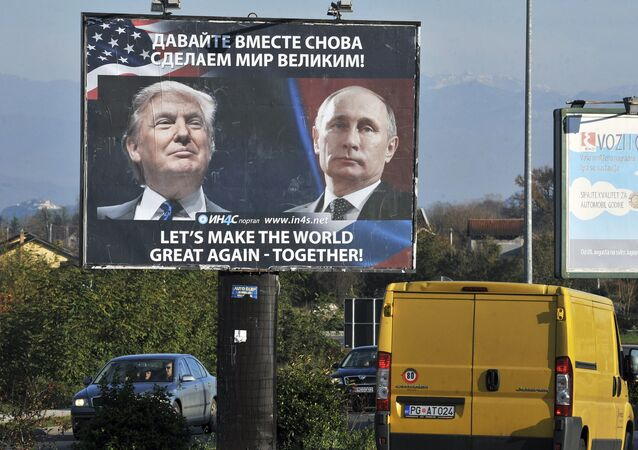 صورة تعبيرية للرئيس فلاديمير بوتين والرئيس الأمريكي دونالد ترامب