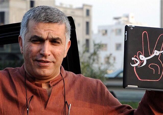 الناشط الحقوقي البحريني نبيل رجب