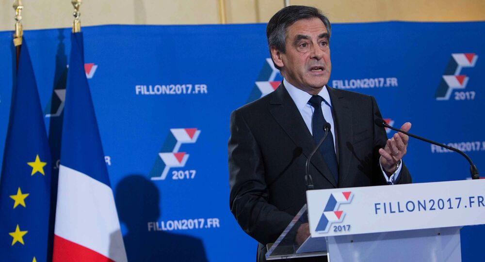 رئيس الوزراء السابق، فرانسوا فيون
