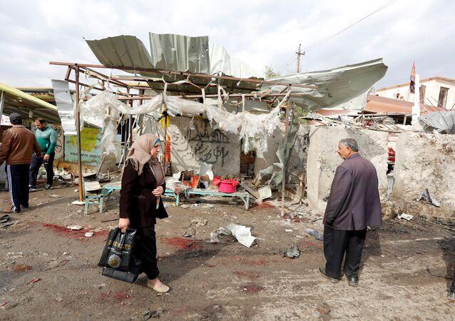 انفجار بمدينة الصدر شرقي بغداد