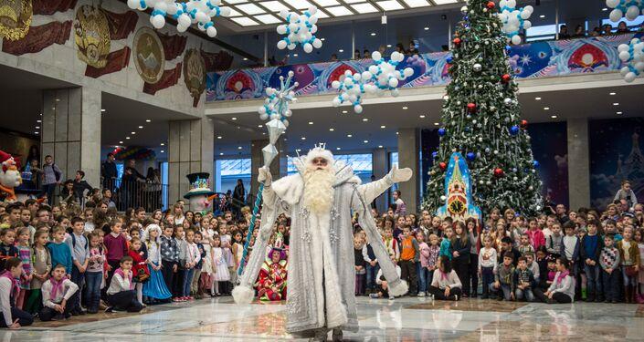 أحتفالات الأطفال في الكرملين برأس السنة