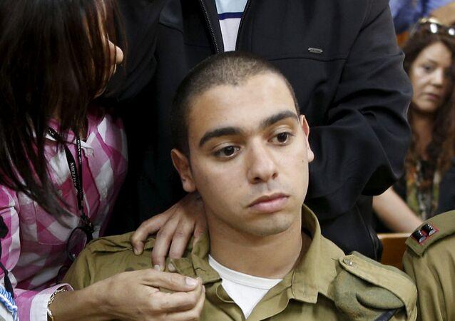 الجندي الإسرائيلي المدان بقتل جريح فلسطيني