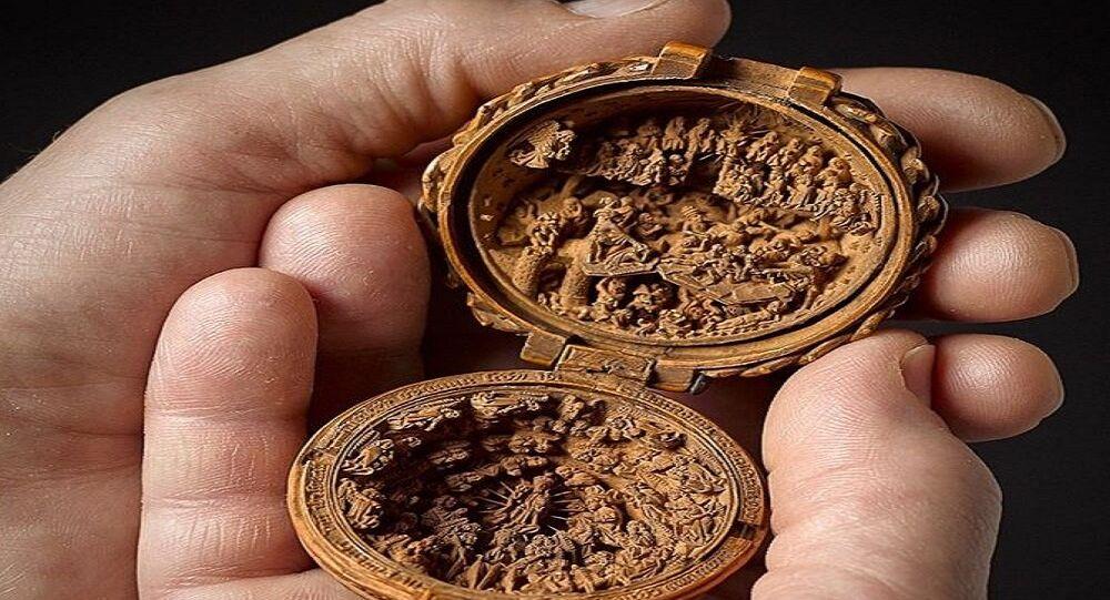 منحوتات خشبية عمرها 500 عام
