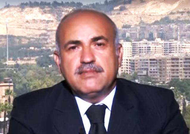 المستشار السياسي لوزير الإعلام السوري الدكتور علي الأحمد