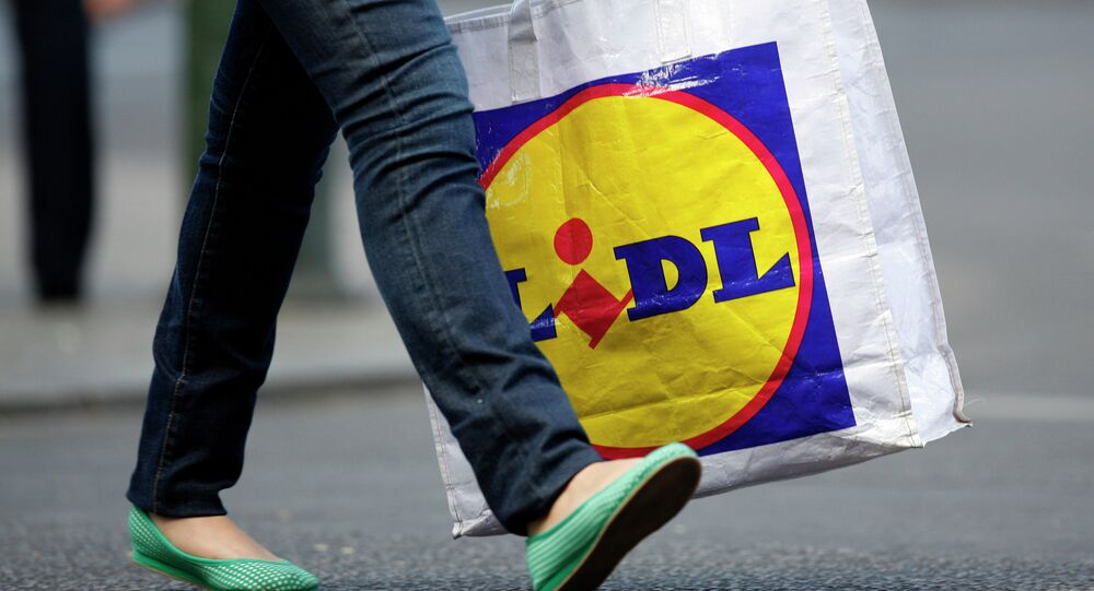 Lidl shopping bag
