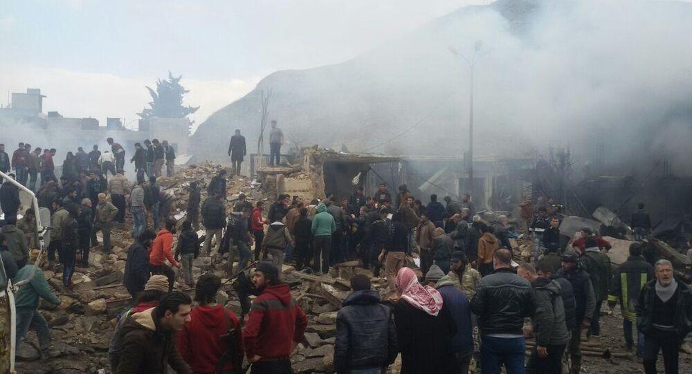 انفجار سيارة مفخخة في إعزاز شمالي سوريا