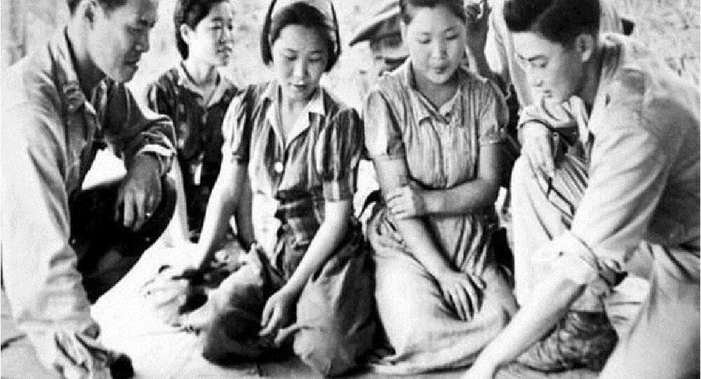 نساء المتعة الكوريات أثناء الحرب العالمية الثانية