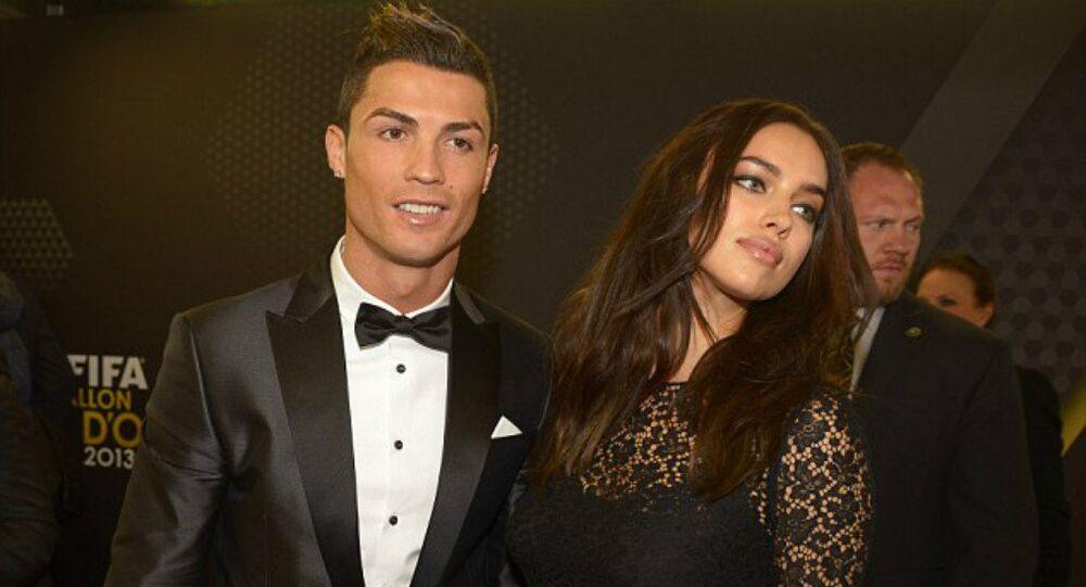 رونالدو مع صديقته السابقة إيرينا شايك