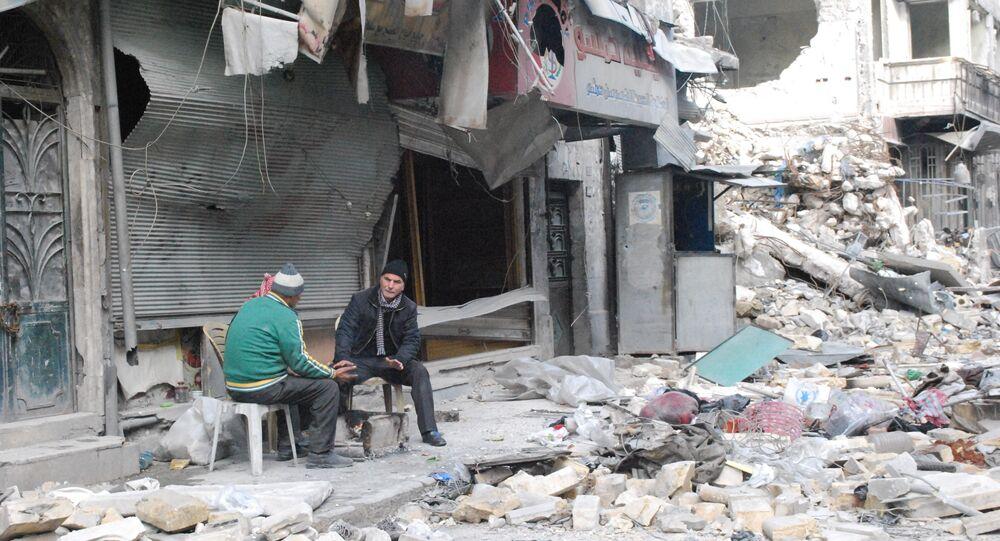 حلب تعود للحياة