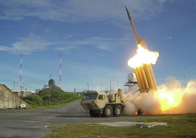 نظام اعتراض الصواريخ الأمريكي THAAD