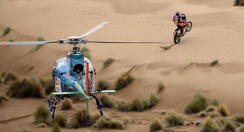 المرحلة السابعة لسباق رالي داكار في بوليفيا