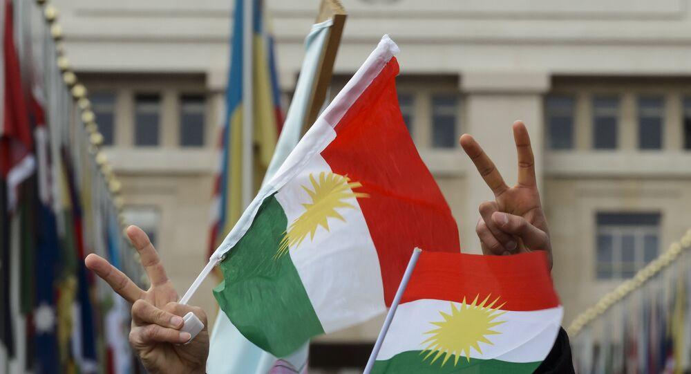 علم كردستان