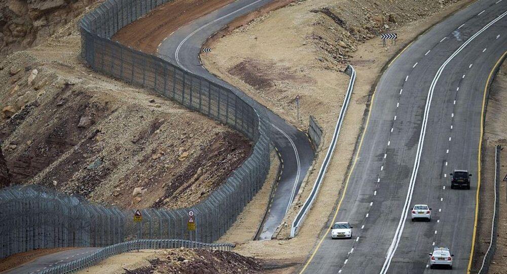 الحدود بين مصر وإسرائيل