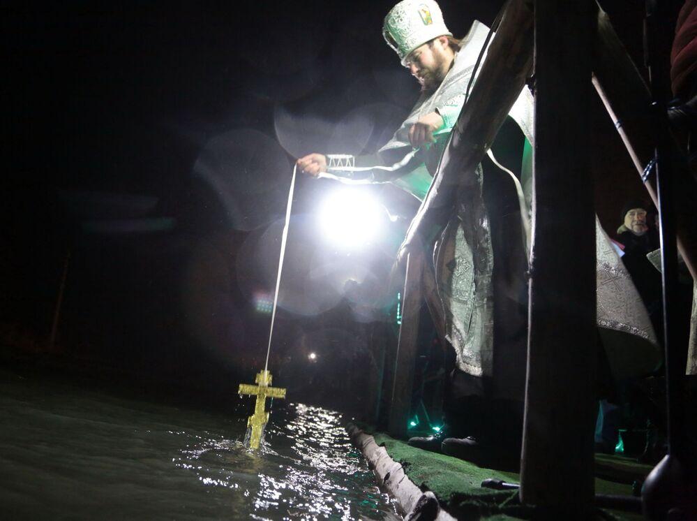 عيد الغطّاس في سمفيروبل، القرم