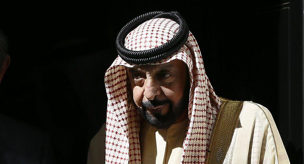 رئيس الإمارات الشيخ خليفة بن زايد آل نهيان