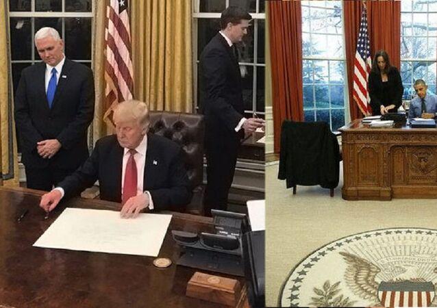 المكتب البيضاوي الرئاسي لترامب