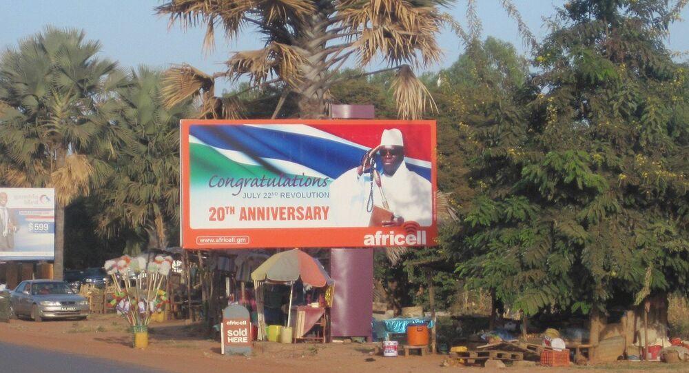 رئيس غامبيا المخلوع يحيى جامع