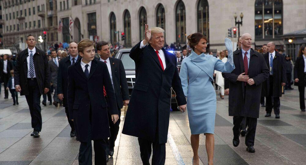 حارس ترامب يرتدي يدا صناعية خلال تأمينه الرئيس الأمريكي في حفل تنصيبه