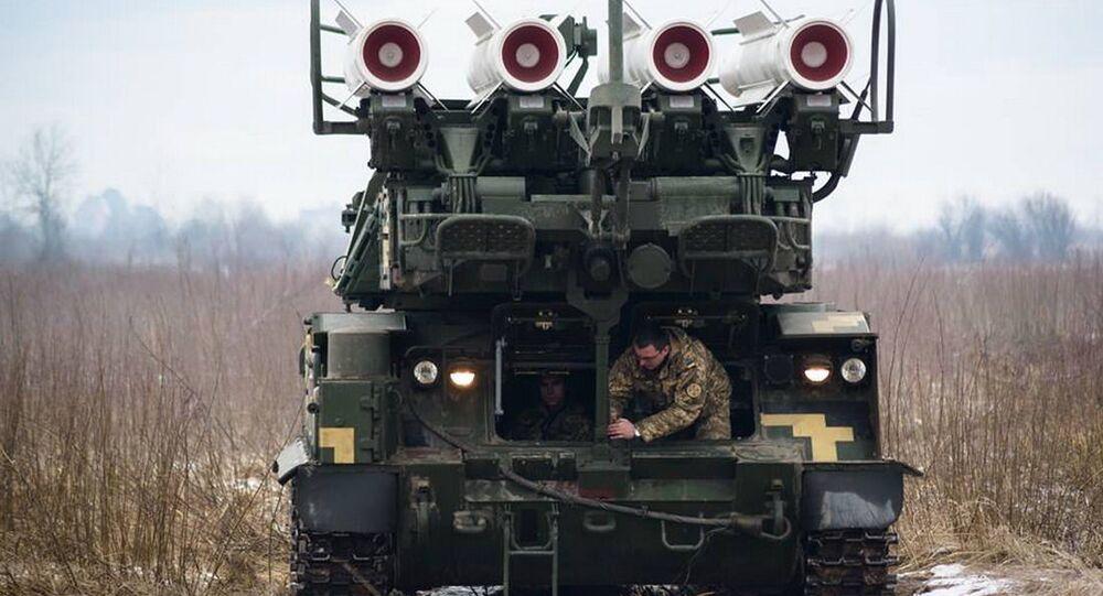 تمرين عسكري في أوكرانيا