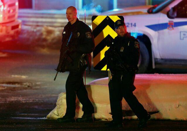 إطلاق نار على مسجد في كندا